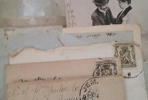 Love letters full of love and tears...