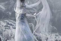 Schnee-Kleid