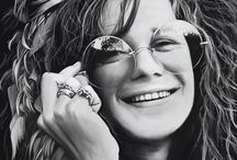 Janis Joplin, A glimpse of the stars.