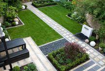 Современный дизайн сада