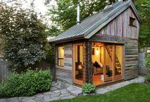 小屋 のような家