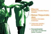 Tradiciones / El 13 de mayo se celebra una nueva edición del 'Día de los Montes Bocineros', cinco montañas bizkainas desde las que se llamaba a las Juntas Generales de Bizkaia. este año se representará la ancestral tradición desde la cima del Sollube (686 m.)