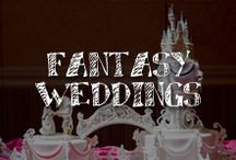 Moore: Fantasy Weddings / The Fantasy bride is all about passion, and you don't do anything halfway. Whether your wedding theme is Wizard of Oz or Wuthering Heights, your guests will play along with an immersive, theatrical, all-sensory experience that's anything but ordinary.   / by A.C. Moore Arts & Crafts