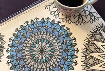 Drawing MANDALA / Love MANDALA