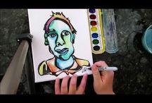 Art Class Resources / Brain breaks, routines, rules, videos, books, resources  / by Kirsten Kirkpatrick