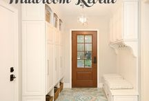 HOME || Mudroom / Mudroom design ideas & inspiration from life & style blogger Pinteresting Plans.