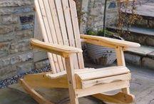 Silla madera para Santoyo