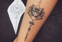 Tattoo Flower Delicated
