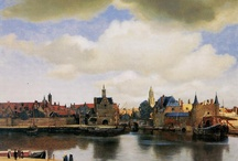 Johannes Vermeer / 17th c. Dutch artist, known to have painted about 41 paintings that have been attributed to him. I was privileged to view them in The Mauritshuis in The Hague years ago. Simply wonderful!