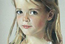 Olie portret