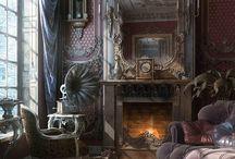 Interier Victorian