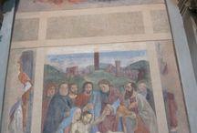 Ghirlandaio: Deposizione (affresco / fresque). Firenze / Florence, Ognissanti / Ghirlandaio: Deposizione (affresco / fresque). Firelze / Florence, Ognissanti