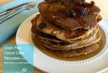 Paleo Breakfast / Healthy paleo breakfast recipes and breakfast on the go: grain free, gluten free, dairy free, processed sugar free