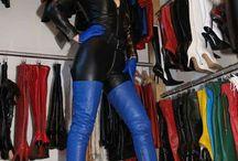 boots closet
