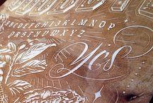 Typography / by Cat De Ville