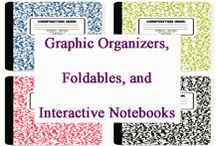 Graphic Organizers, Foldables, Interactive Notebooks / Graphic Organizers, Foldables, and Interactive Notebooks curated for elementary teachers by www.treetopsecret.com.  Please visit my blog for more ideas to help you and your students, Veronica at TreeTop. / by Tree Top Secret Education