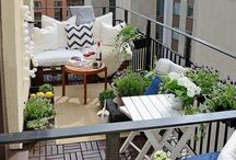 - Balcony ideas.