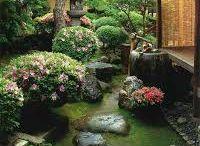 Japonské zahrady-Japanese gardens