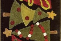 wool applique / by Gail Oates