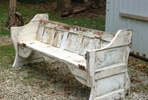 vintage benches