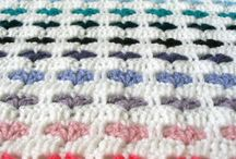 Crochet Granny squares and blankies