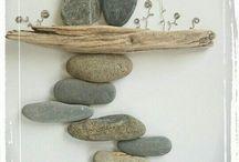 δημιουργιες με πετρες