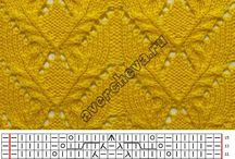 knit patterns&charts