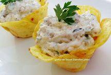 Patates tabağl yapımı