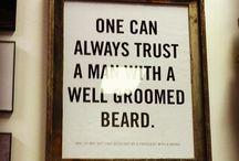 que de BARBAS / ... RINDO... depois que me casei com um militar que não gosta de barba longa, o jeito é acostumar com barbas de alguns dias...