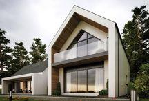 House Build - Main Architectural Features / Exterior Design Idea's