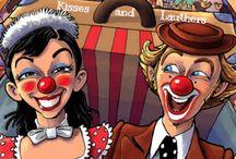 Clowns Besos y risas