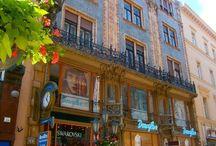 Thonet house Budapest / http://www.budapestdaytrips.com/en/budapest-tours/art-noveau