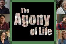 Agony of Life / Australia's funniest and brightest take us through the most important stages of existence – from child to adult, to creating and supporting families, to building and managing careers.