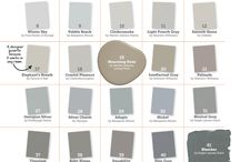 Paint colors / by Lisa Warnock