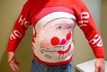 Ugly Holiday Sweaters / Sweaters for my peeps to wear to an ugly holiday sweater party.  So many winners here!