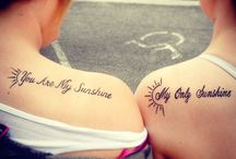 Tattoos / by Chasity Korell
