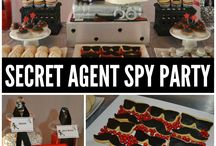 Spy party for kids(3 years old Gabriel)