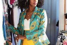 African Print Goes Corporate