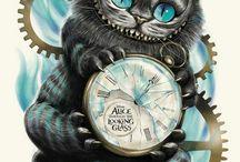 Katten från Alice i under landet