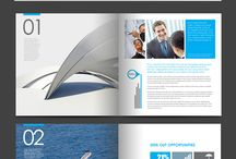 Publication layout, annual reports layout, editorial layout / Publication layouts, annual reports, covers