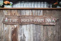 The Mast Farm Inn • Weddings • Revival Photography / Weddings at the Mast Farm Inn photographed by Heather & Jason Barr of Revival Photography