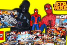 LEGO STAR WARS TOYS UNBOXING AND REVIEW