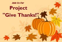 "Project ""Give Thanks!"" / As a thank you to our City and our Friends of the Foley Library, we are requesting patrons to have their photo taken with our library statue out front.  Photos may be emailed to foleylibrary@gmail.com.  Please give permission via your email or complete a form from the Circ Desk so we may share your photo on our website.  Photos accepted through Nov 30, 2014. / by Foley Public Library"