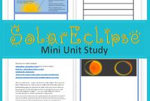 Solar Eclipse Unit Studies