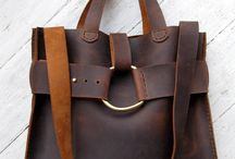 JM: leather bags