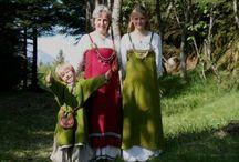 Historic fashion viking