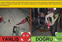 Safety Before and After (True and False) Precaution Activity on Field / Analysis good exapmle and bad example...