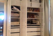 Wardrobes / walk in closet