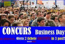 Castiga 2 Tichete de Acces GRATUIT in 3 Pasi la CRAIOVA Business Days!