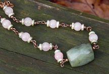 šperky / Šperky z minerálů a korálků, které vyrábím pod nickem KalamityM a prezentuji na Fleru, Simiře, Potvoru
